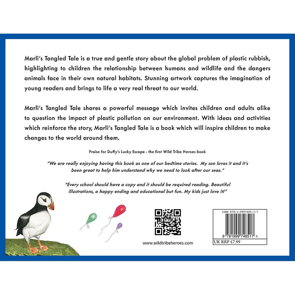 Marli's Tangled Tale - #1 Children's Book Series Tackling Ocean Plastics
